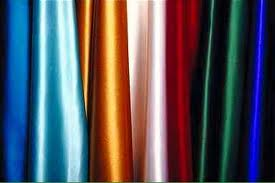 80 to 140 GSM, 100% Satin, Dyed, Plain