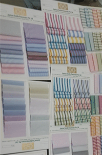 100-150 GSM, Polyester/Cotton (Blend Ratio : 60/40%, 50/50%, 95/5%),  Finished, Dyed, Checks, Stripped, Plain