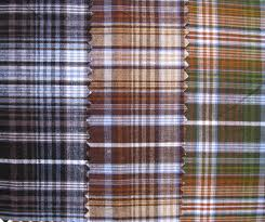 150-200 GSM,  100% Cotton ,  Finished, Dyed, Checks, Stripped, Plain
