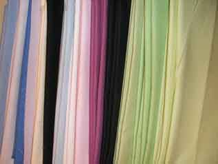 100-150 GSM, 100% Polyester, Finished, Dyed, Checks, Stripped, Plain