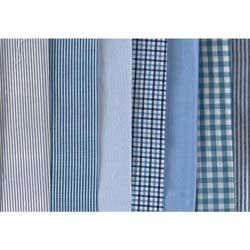 80-120 GSM, 100% Linen, Finished, Dyed, Checks, Stripped, Plain
