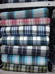 150-180 GSM, 100% Cotton, Yarn dyed, Twill, Stripes