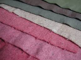150-200 gsm, 100% Wool, Greige/Dyed, Plain