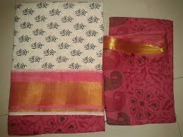 100 - 120 gsm, 100% Cotton, 100% Silk, Dyed, Plain