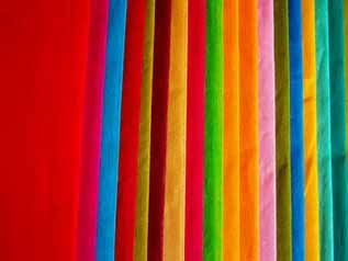 80 to 220 GSM, 100% Voile Sheer , Dyed, Plain
