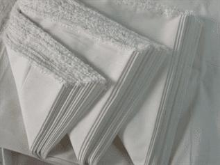 200 gsm,  3D Polyester, Greige, Plain
