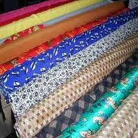 150+ GSM, 80% Cotton / 20% Polyester Woven Printed Lawn Pakistani, Dyed, Plain
