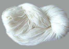 Raw White, For Knitting sweater, 32/2, 100% Acrylic