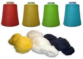 Dyed, Flat and Circular Knitting, Nm 14/1, 15/1, 28/2, 32/2, 100% Acrylic High Bulk