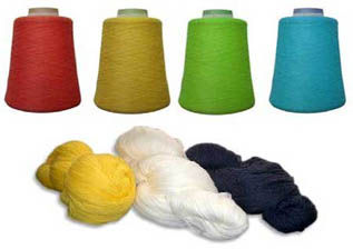 Dyed, For Weaving and Knitting, 16s-40s, Acrylic