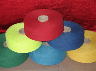 Dyed, For weaving and knitting, 10-50s, 100% Cotton