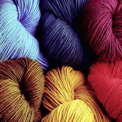 Dyed, For weaving and knitting, 6 to 80, 100% Cotton