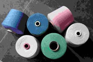 Dyed, For Knitting & Weaving, Ne 30s-40s, 100% Cotton Spun