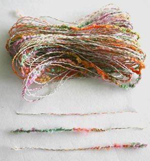 Fancy yarn-6534