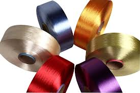 Dyed, For manufacture of shoe laces, 50D/48F/1, 75D/34F/1, 30D/48F,  100% Polyester