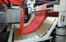 Bruckner dryer for highly sensitive knitted fabric finishing