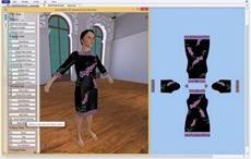 AccuMark 3D Visualization Technology; Courtesy: Gerber Technology
