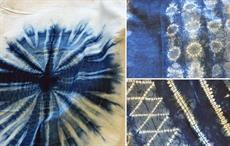 East African SMEs learn Shibori tie and dye technique