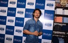 Courtesy: Lifestyle; Tiger Shroff launches Lifestyle store in Navi Mumbai inaugrate