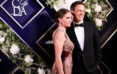 Alexi Ashe and Seth Meyers at 2017 CFDA Fashion Awards. Courtesy: CFDA