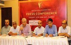 (left to right) Rohit Munjal, Ashok  Shah, Rahul Mehta, Premal Udani, Rajesh Masand and Jayesh  Shah