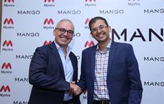 Mango Executive Vice President Daniel López (left) with Ananth Narayanan, CEO of Myntra & Jabong; Courtesy: Mango