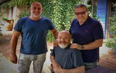 (L-R) Umberto Brocchetto, Adriano Goldschmied, Valter Celato; Courtesy: MYR