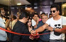 Hindi film actor Sonu Sood inaugurating the MZ store; Courtesy: Zashed Fashiontech Pvt Ltd.