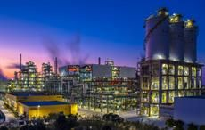 A night view of Jiaxing Petrochemical 's second PTA line. Courtesy: Invista