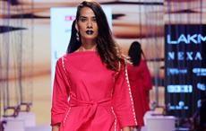 A model at Lakme Fashion Week Summer/Resort 2018. Courtesy: Lakme Fashion Week