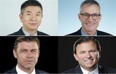 Clockwise from top left: Anson Xu, Walter Kiechl, Andreas Tanner, and Harold Hoke; Courtesy: Uster Technologies