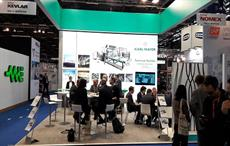 Karl Mayer stand at JEC World attracts global visitors