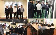 Courtesy: CNTAC; Officials at Newtech Textile Technology Development