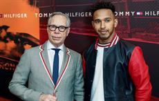 Lewis Hamilton is brand ambassador of Tommy Hilfiger