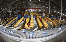 A view of JD.com's highly-automated warehouse. Courtesy: JD.com