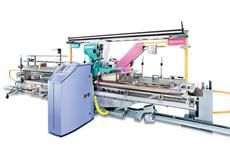 SAFIR S40 automatic drawing-in machine. Courtesy: Staubli