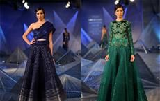 Designer Amit Aggarwal showcasing collection at ICW 18.