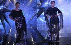 Naintara by Suneet Varma at India Couture Week