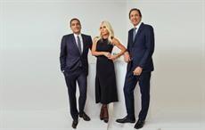 L-R: Jonathan Akeroyd, Donatella Versace, John D Idol. Courtesy: Rahi Rezvani