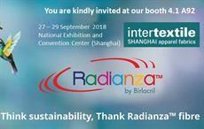 TAF to display new innovations at Intertextile Shanghai