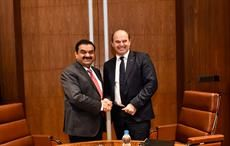 Martin Brudermüller, Chairman of the Board of Executive Directors, BASF SE (right) and Gautam Adani, Chairman of the Adani Group signed an MoU ; Courtesy: BASF