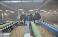 A view of the new fabric manufacturing unit. Pic: Textile-Kontakt