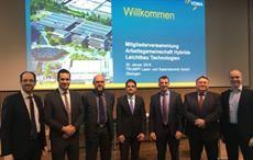 L:R Dr.-Ing. Norbert Müller, Manfred Reif, Klaus-Peter Welsch, Martin Würtele, Jochen Schmidt, Lothar Gräbener, Marc Kirchhoff; Courtesy: VDMA