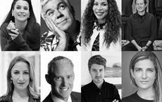 Pic: Copenhagen Fashion Summit; (clockwise): Julia Ormond, Tim Blanks , Dr Precious Moloi-Motsepe, Ryan Gellert, Maya Singer, Daniel Fibiger, Mike Berry, Rachel Arthur