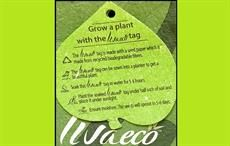 Livaeco plantable garment tag now at W retail stores