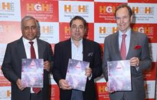 (L-R)Arun Roongta, Managing Director, HGH India, Dr Aloke Banerjee, Chief Executive Officer, The Bombay Dyeing and  Dr Geert Bottger, Director, HGH India ; Pic: HGH India