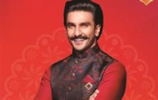 Ranveer Singh is the new face of Manyavar