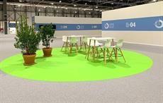 UN Climate Conference using recyclable BIG Rewind carpet