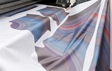 Touchpoint textile, show for digital printing, at Drupa