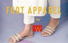 W forays into fashionable footwear